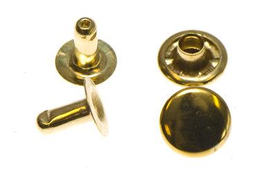 Holniet goudkleurig staal 9 mm (ca. 1000 sets)