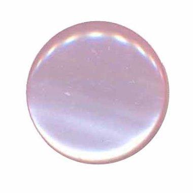Knoop glans licht roze 25 mm (ca. 25 stuks)