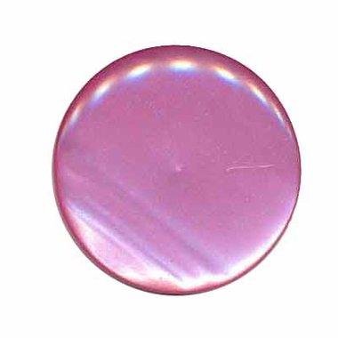 Knoop glans fuchsia 25 mm (ca. 25 stuks)