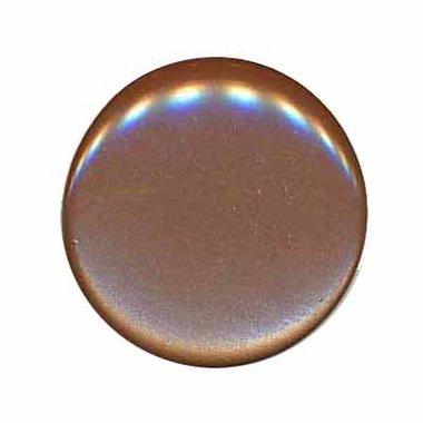 Knoop glans bruin 25 mm (ca. 25 stuks)