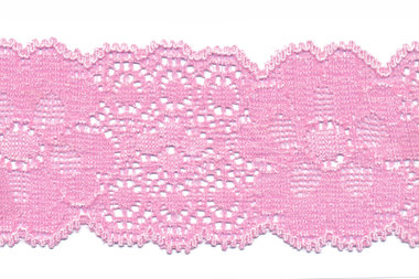 Elastisch kant licht roze ca. 50 mm (ca. 10 m)