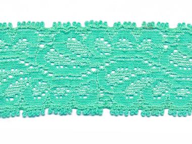 Elastisch kant mintgroen ca. 35 mm (ca. 10 m)