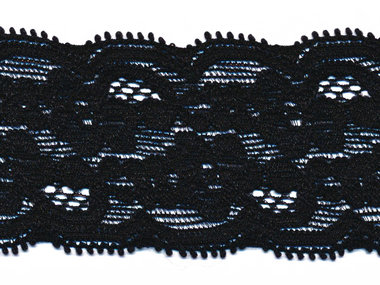 Elastisch kant zwart ca. 40 mm (ca. 10 m)