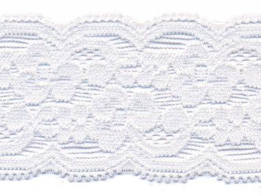 Elastisch kant gebroken wit ca. 40 mm (ca. 10 m)