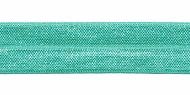 Mintgroen #028 elastisch biaisband 20 mm (ca. 25 m)