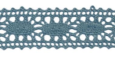 Kant blauw-groen ca. 25 mm (ca. 10 m)