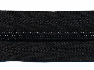 Nylon rits zwart #580 maat 8 (ca. 5 m)