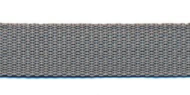 Tassenband 20 mm licht grijs (50 m)