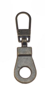 Hersluitbare ritstrekker brons (25 stuks)