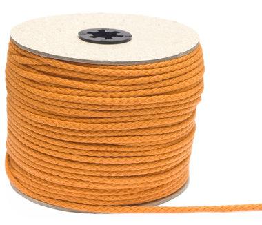 Katoenen koord oranje 5 mm (ca. 100 m)