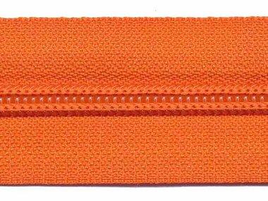 Nylon rits oranje #523 maat 5 (ca. 5 m)