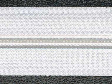 Nylon rits wit #501 maat 5 (ca. 5 m)