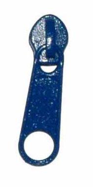 Ritsvoetje / zwaantje / schuivertje kobalt blauw #918 maat 5 (10 stuks)