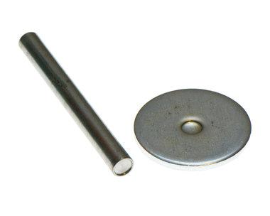 Gereedschap voor 6 mm holniet met dubbele kop (set)