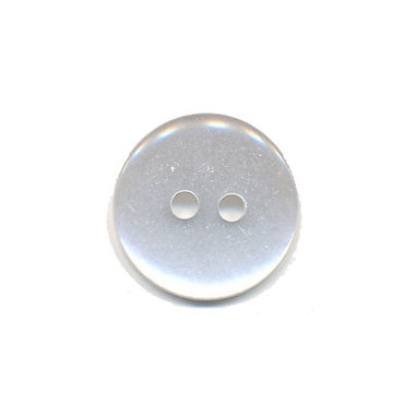 Knoop wit 16 mm (ca. 50 stuks)
