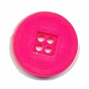 Knoop retro fuchsia 25 mm (ca. 25 stuks)