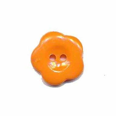 Bloemknoop oranje 15 mm (ca. 50 stuks)