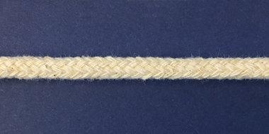 Vulkoord katoen 5 mm creme (ca. 50 m)