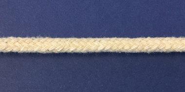 Vulkoord katoen 4 mm creme (ca. 100 m)