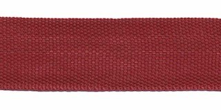 Biesband ca. 22 mm bordeaux (50 m)