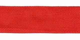 Biesband ca. 22 mm rood (50 m)