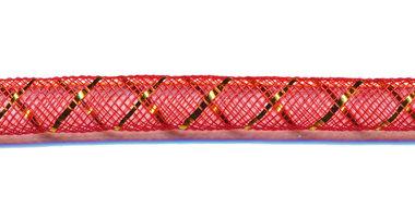 Decoslang 8 mm rood (ca. 27 meter)