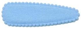 Haarkniphoesje licht blauw vilt 5 cm (ca. 100 stuks)