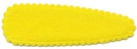 Haarkniphoesje NEON geel vilt 5 cm (ca. 100 stuks)