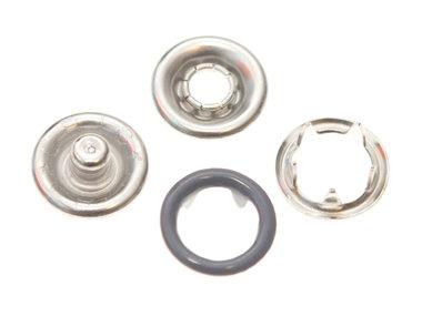 Babydrukker grijs 9 mm, type #122 (ca. 100 stuks)