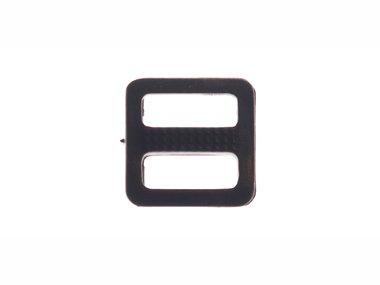 Schuifgesp zwart kunststof 10 mm (100 stuks)
