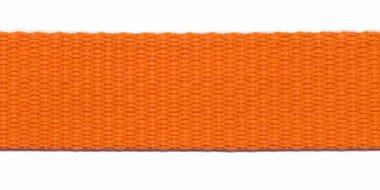 Tassenband 20 mm oranje (50 m)