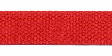 Tassenband 20 mm rood (50 m)