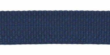 Tassenband 20 mm donker blauw (50 m)