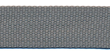 Tassenband 25 mm licht grijs (50 m)