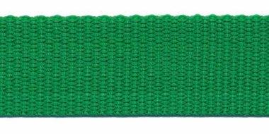 Tassenband 25 mm grasgroen (50 m)