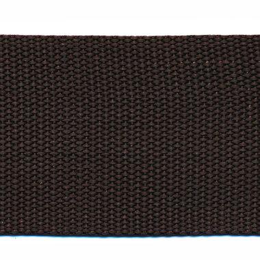Tassenband 50 mm bruin (50 m)