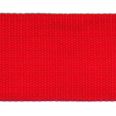 Tassenband 50 mm rood (50 m)
