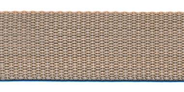 Tassenband 25 mm zand (50 m)