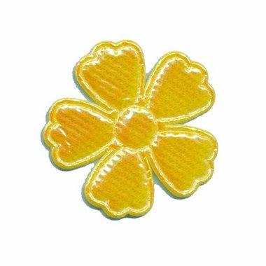 Applicatie glim bloem geel middel 35 mm (ca. 25 stuks)
