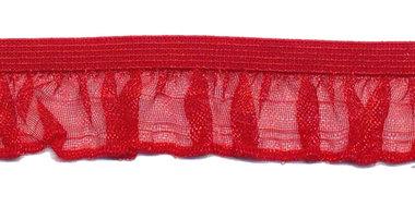 Rood roezel elastiek 19 mm (ca. 10 meter)