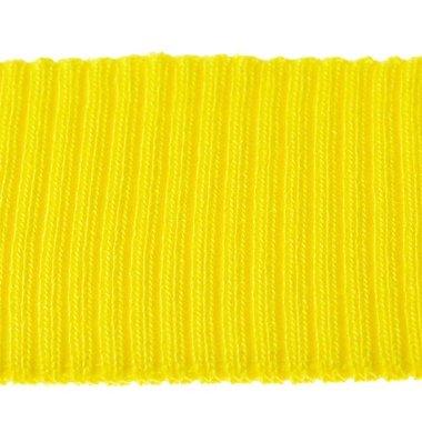 Boord geel effen ca. 55 cm (6 stuks)