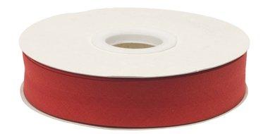 Rood gevouwen biaisband 20 mm (20 meter)