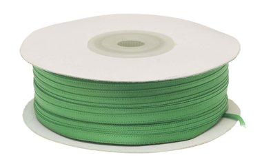 Groen dubbelzijdig satijnband 4 mm (ca. 90 m)