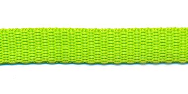 Tassenband 13 mm NEON groen (50 m)
