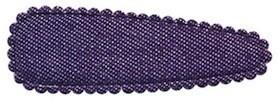Haarkniphoesje denim donker blauw 5 cm (ca. 100 stuks)