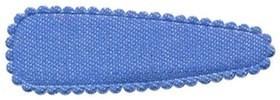 Haarkniphoesje denim licht blauw 5 cm (ca. 100 stuks)