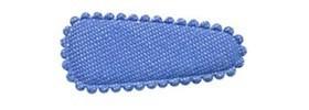 Haarkniphoesje denim licht blauw 3 cm (ca. 100 stuks)