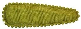 Haarkniphoesje satijn mosgroen 5 cm (ca. 100 stuks)