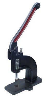Handpers voor drukknopen, holnieten, nestels, rivets e.d.
