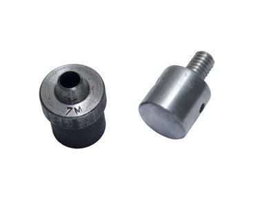 Ponsgereedschap 8 mm (maat #23) voor gebruik in handpers